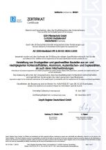 AD 2000-Merkblatt HP0 und EN ISO 3834-2:2005