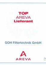 TOP AREVA Lieferant