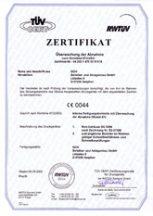 RWTÜV 97/23/EG Modul A1