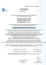 AD 2000-Merkblatt HP 0 & EN ISO 3834-2 : 2005