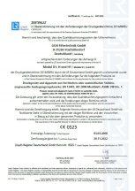 DGR 2014/68/EU Modul D1, H & H1